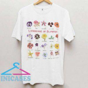 Language Of Flowers T Shirt