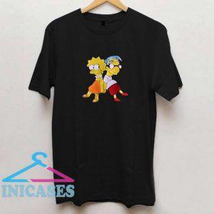 Lisa Simpson and Milhouse Cute T Shirt