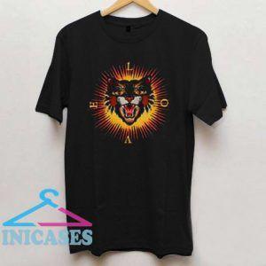 Love Tiger Sun T Shirt