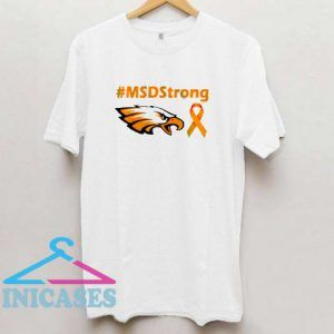 #MSD Strong orange eagle T shirt