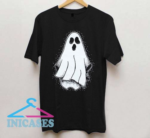 Mystical Gothic Spooky Halloween Ghost T shirt