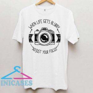 Photographer Gift Idea Camera T Shirt