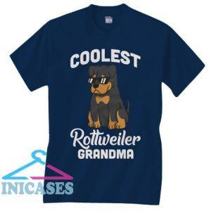 Rottweiler Coolest Grandma T Shirt