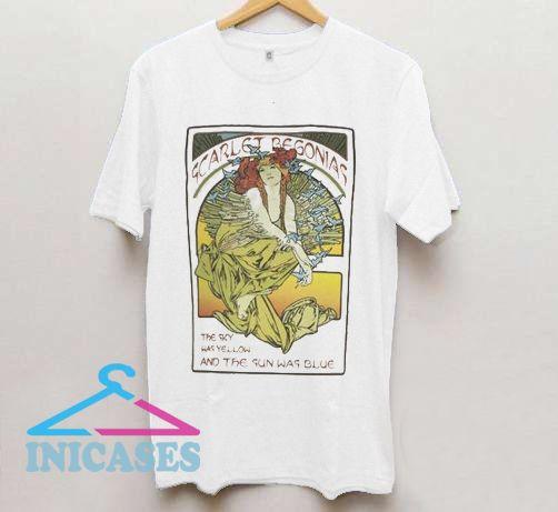 Scarlet Begonias Mucha inspired lot T Shirt
