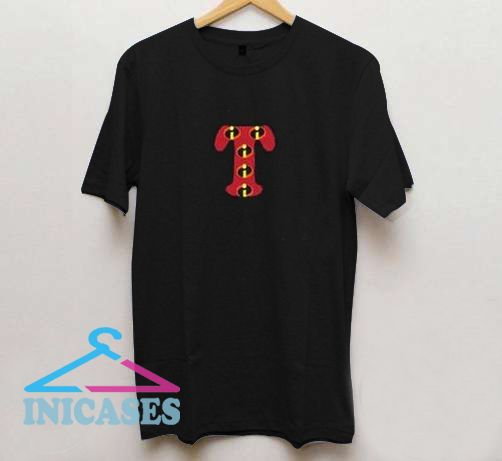 T font logo the incredible T Shirt