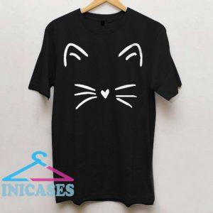 Valentines Day Shirt Cute Cat Kitty Kitten T Shirt