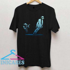 Yoda Michael Jackson Dance Smooth Criminal Lean T shirt