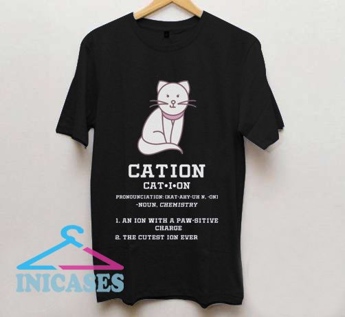 Cat Lover Cation Science T Shirt