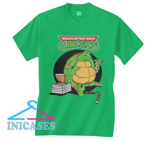 Crisis Mutant Ninja Turtles T Shirt