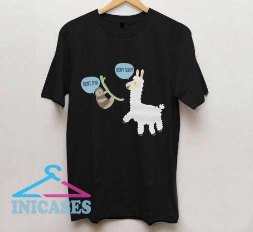 Don't Sleep Llama T Shirt