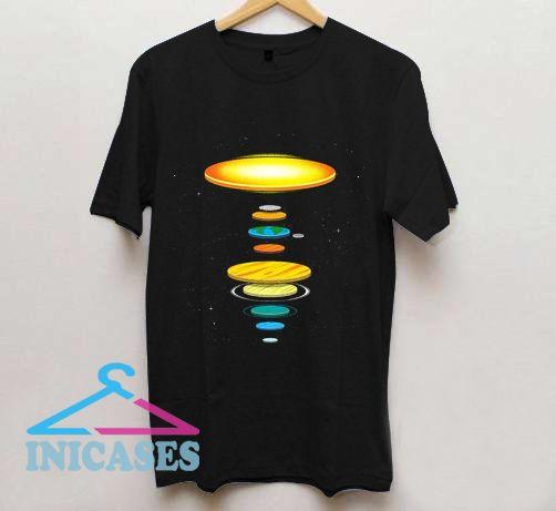 Flat Earth Theory T Shirt