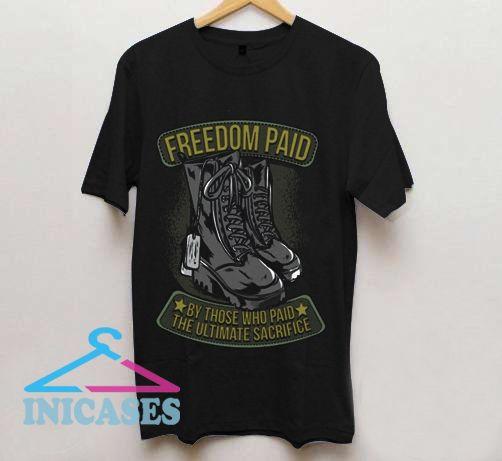 Freedom paid T shirt
