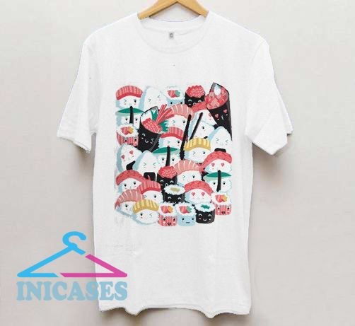 Kawaii Sushi T shirt