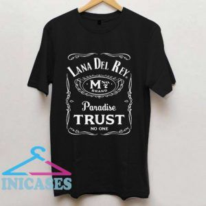 Lana Del Rey Typography Parody T Shirt