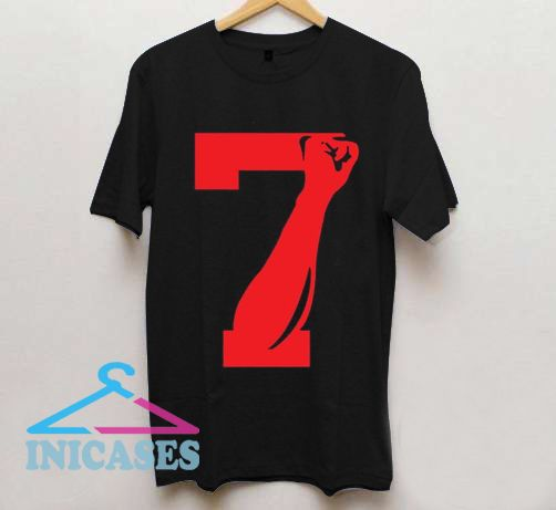 Number 7 T Shirt