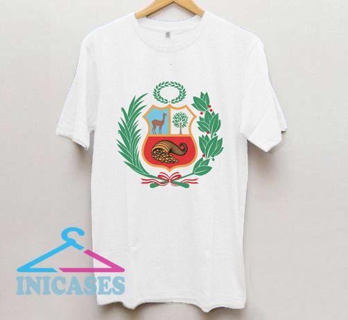 Peru Escudo Coat of Arms Peruvian T Shirt