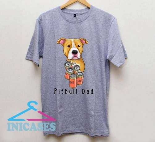 Pitbull Dad T shirt