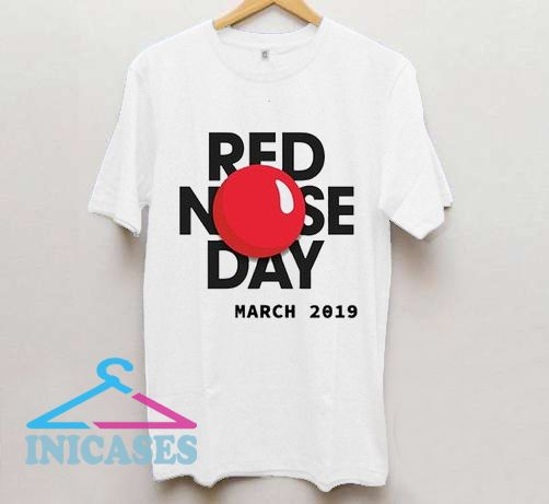 Red Nose day 2019 T Shirt
