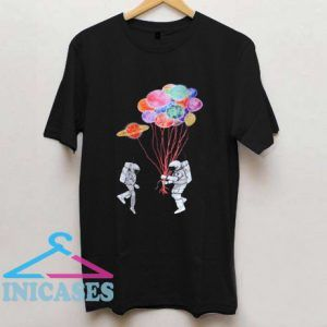 Spaceman Planets Cotton T shirt