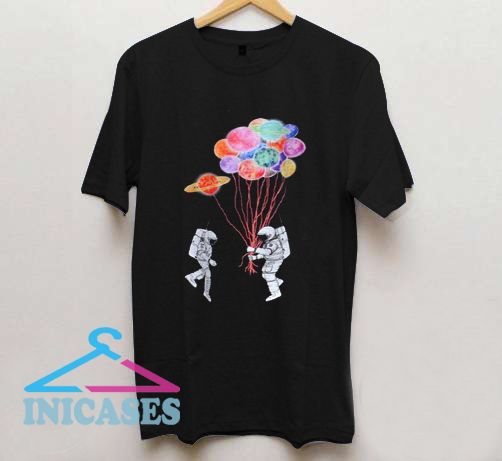 Spaceman Planets Cotton T shirt