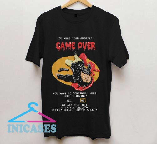 Yoe Hare Torn apart Game Over T Shirt