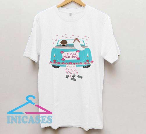 machine paired T shirt