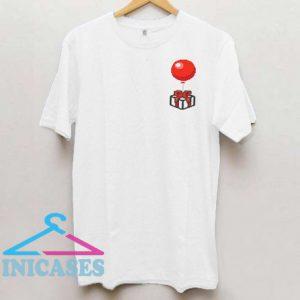 Balloon Present T Shirt