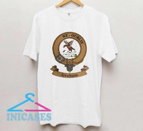 Clan Graham Crest T Shirt