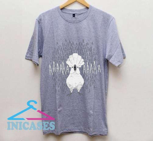 Crazy Screaming Cockatoo T Shirt