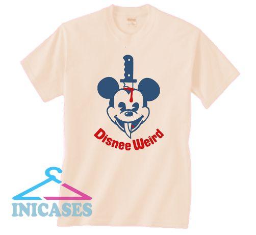 DisneeWeird Mickee T Shirt