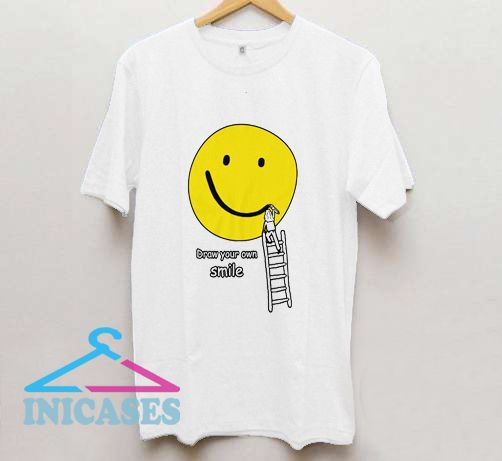 Draw your own smile T Shirt
