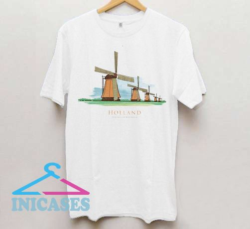 Holland Windmills T Shirt