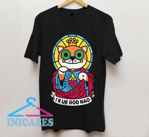 Kids Jeezus Cat T shirt