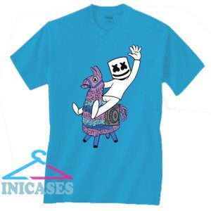 Marshmello on Pinata Dj Music T Shirt