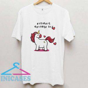 National Unicorn T Shirt