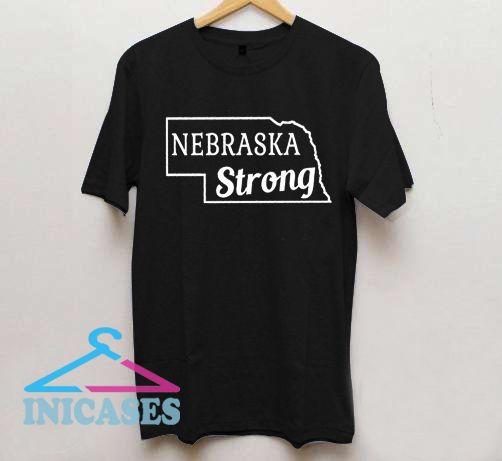 Nebraska Strong T Shirt