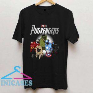 Pugvengers Avengers T Shirt