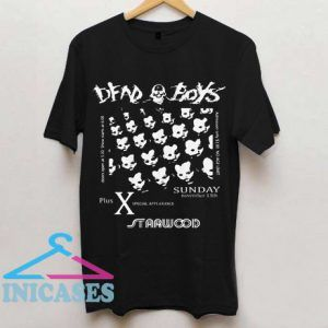 Starwood punk flyer T shirt