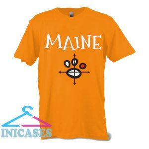 Maine NorthEast Dog Paw T Shirt