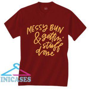 Messy Bun T Shirt