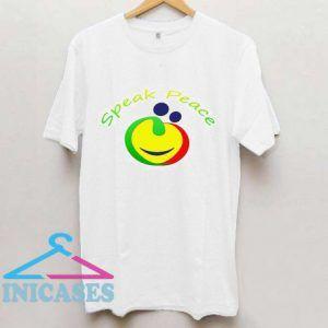 Speak Peace T Shirt
