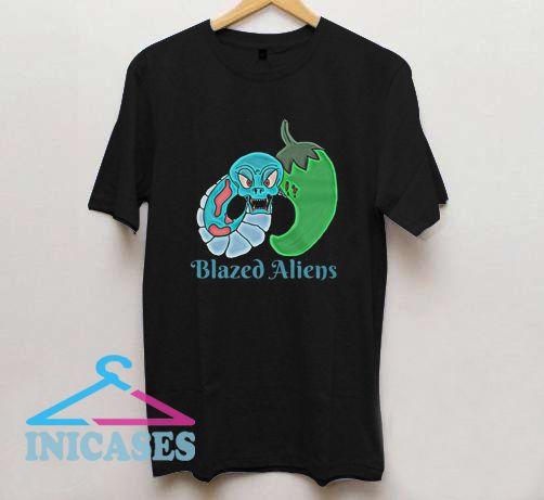 Aliens Snake Bite T Shirt