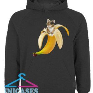 Banana Cat Hoodie pullover