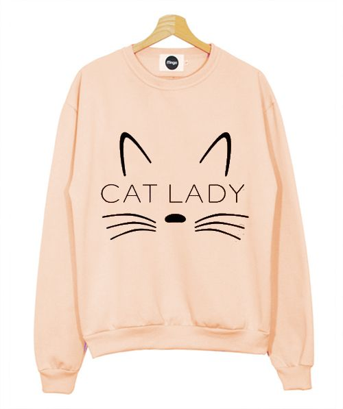 Cat Lady Women's Sweatshirt Men And Women