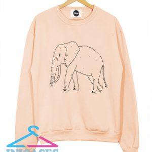 Elephant Sweatshirt Men And Women