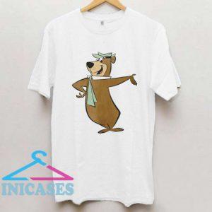 Yogi Bear Cartoon Character Boo T Shirt