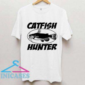 catfish hunter fisherman T Shirt