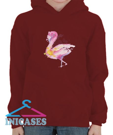 flamingo Hoodie pullover