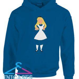 Alice In Wonderland Minimalist Hoodie pullover