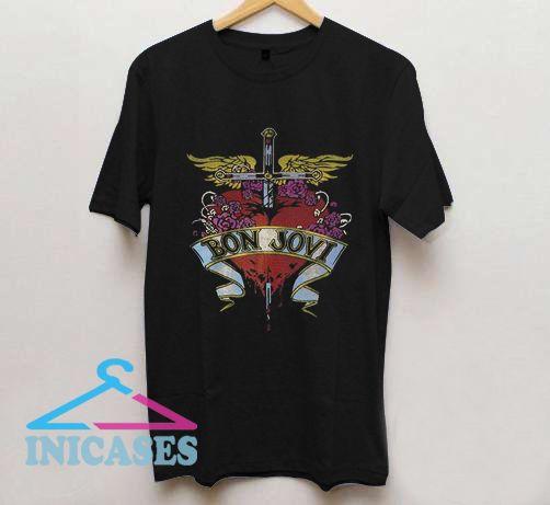 Bon Jovi Metal T Shirt